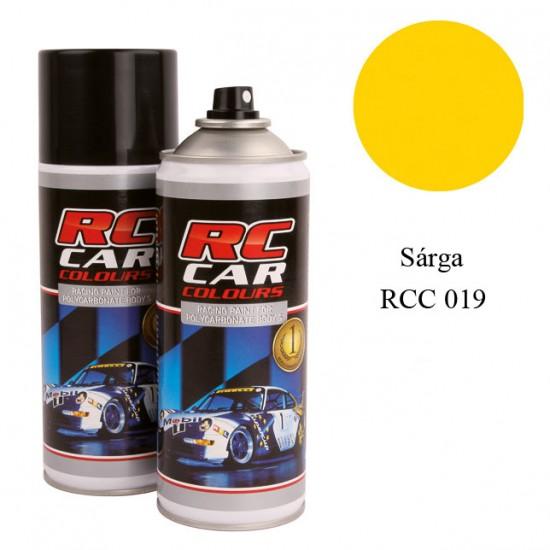 RC Car Colour - sárga 019