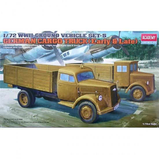 Academy German Cargo Truck 1:72