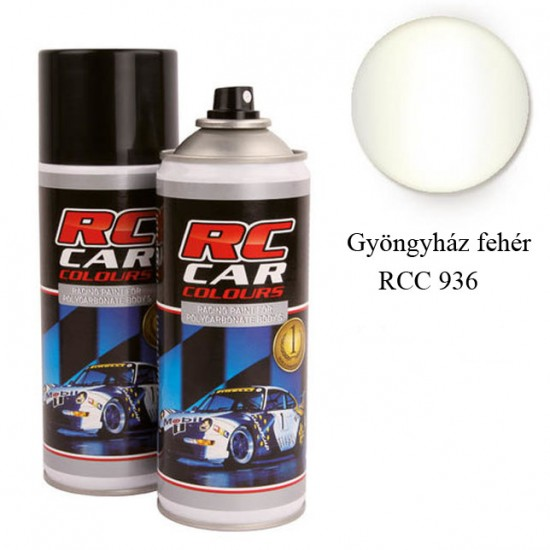 RC Car Colour - metál fehér 936
