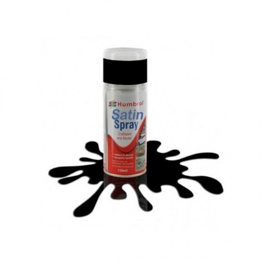 Coal Black satin akrilspray